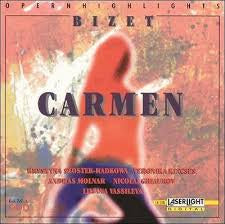 BIZET - CARMEN OPERA HIGHLIGHTS CD VG