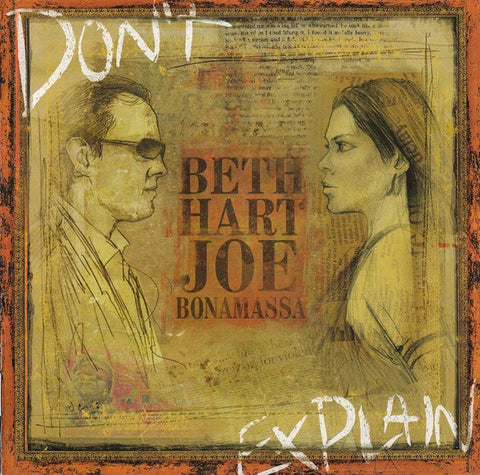 BONAMASSA JOE & BETH HART-DON'T EXPLAIN CD VG+