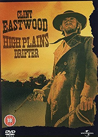 HIGH PLAINS DRIFTER DVD VG