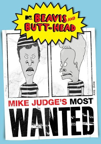 BEAVIS AND BUTT-HEAD MIKE JUDGE'S MOST WANTED DVD VG+