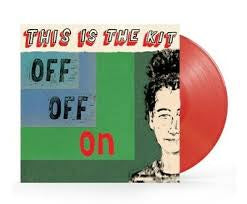 THIS IS THE KIT-OFF OFF ON RED VINYL LP *NEW*