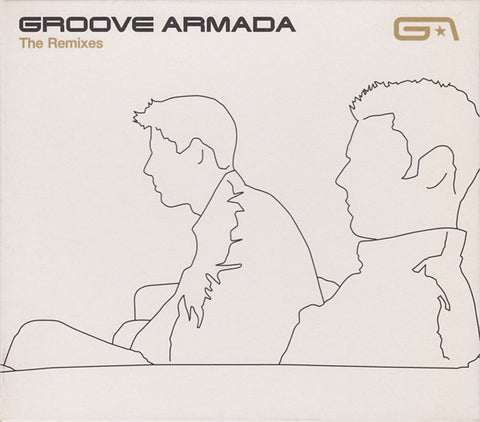 GROOVE ARMADA-THE REMIXES CD VG