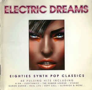 ELECTRIC DREAMS-VARIOUS ARTISTS 2CD VG