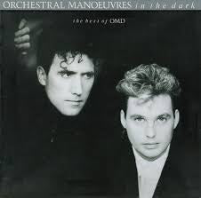 ORCHESTRAL MANOEUVRES IN THE DARK-THE BEST OF OMD LP NM COVER VG+