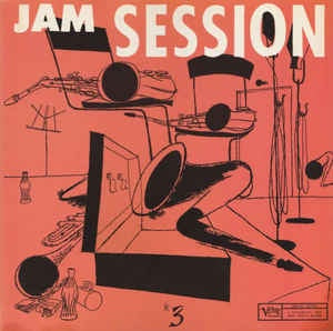 NORMAN GRANZ JAM SESSION #3-VARIOUS ARTISTS LP VG+ COVER  VG+