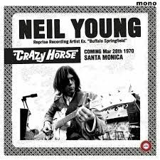 YOUNG NEIL & CRAZY HORSE-SANTA MONICA CIVIC 1970 LP *NEW*