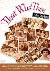 THAT WAS THEN-VIDEO JUKEBOX DVD VG