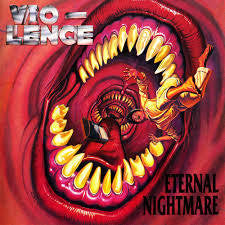 VIOLENCE-ETERNAL NIGHTMARE LP VG COVER VG
