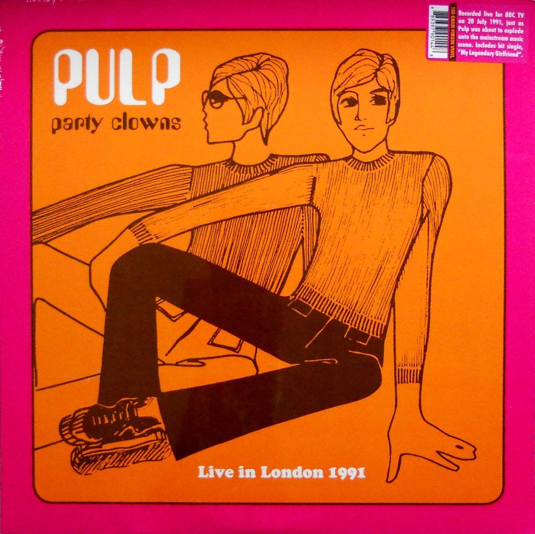 PULP-PARTY CLOWNS LIVE IN LONDON 1991 LP *NEW*