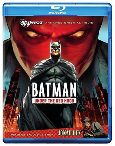BATMAN UNDER THE RED HOOD - BLU RAY VG