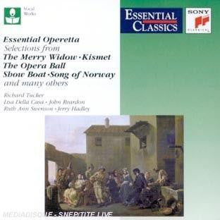 ESSENTIAL OPERETTA-THE MERRY WIDOW AND MANY OTHERS CD VG