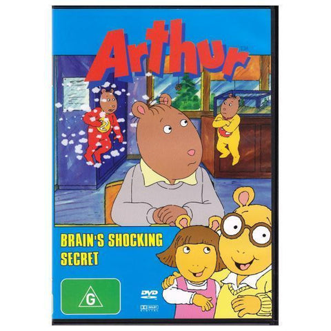ARTHUR-BRAINS SHOCKING SECRET DVD NM