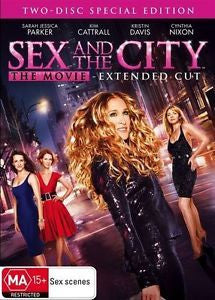 SEX AND THE CITY-FILM DVD G