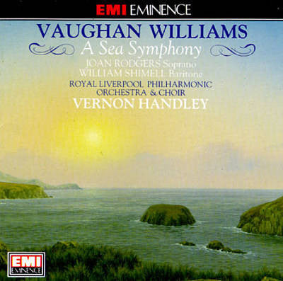 VAUGHAN WILLIAMS-A SEA SYMPHONY HANDLEY CD VG