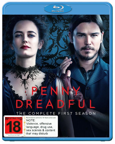 PENNY DREADFUL FIRST SEASON 3BLURAY VG+