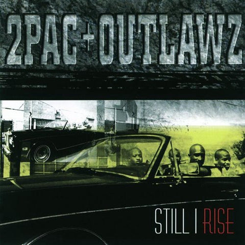 2PAC + OUTLAWZ-STILL I RISE CD VG