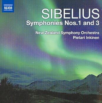 SIBELIUS-SYMPHONIES NOS 1 AND 3 NZSO CD VG