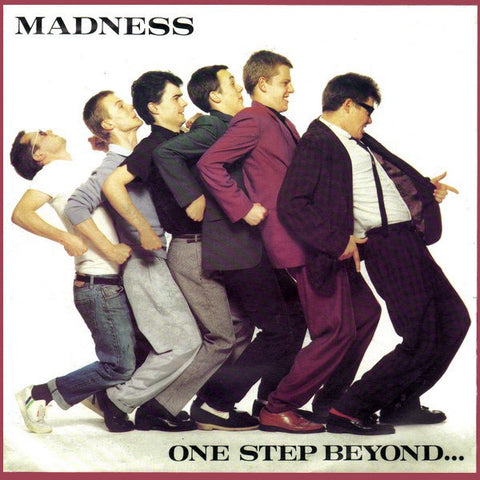 MADNESS-ONE STEP BEYOND 7'' SINGLE VG COVER VG+