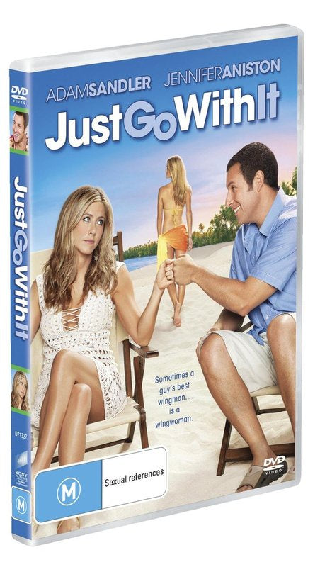 JUST GO WITH IT DVD VG