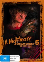 A NIGHTMARE ON ELM STREET 2-FREDDY'S REVENGE DVD VG