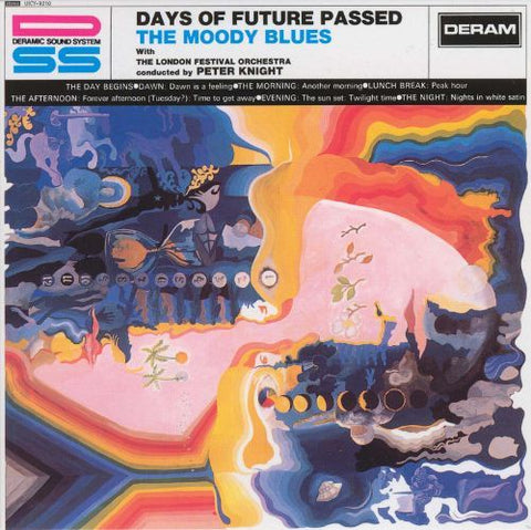 MOODY BLUES THE-DAYS OF FUTURE PASSED LP EX COVER VG+