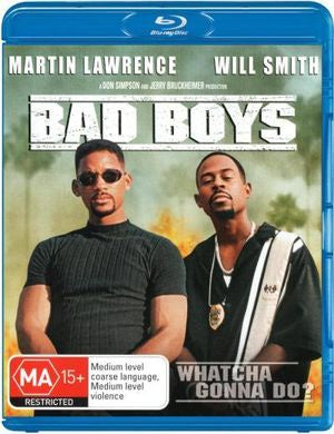 BAD BOYS BLURAY VG+