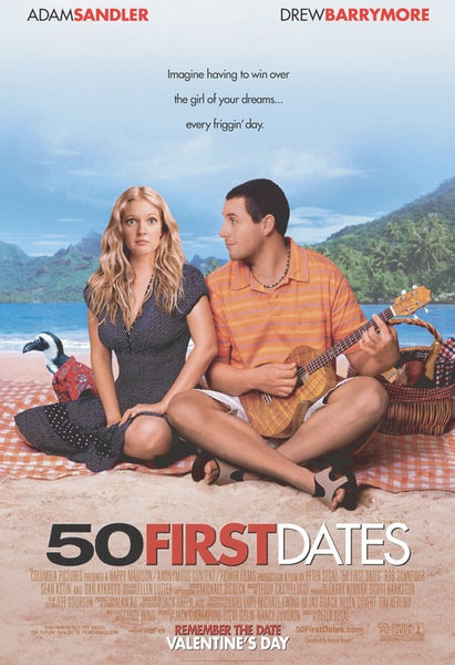 50 FIRST DATES DVD VG