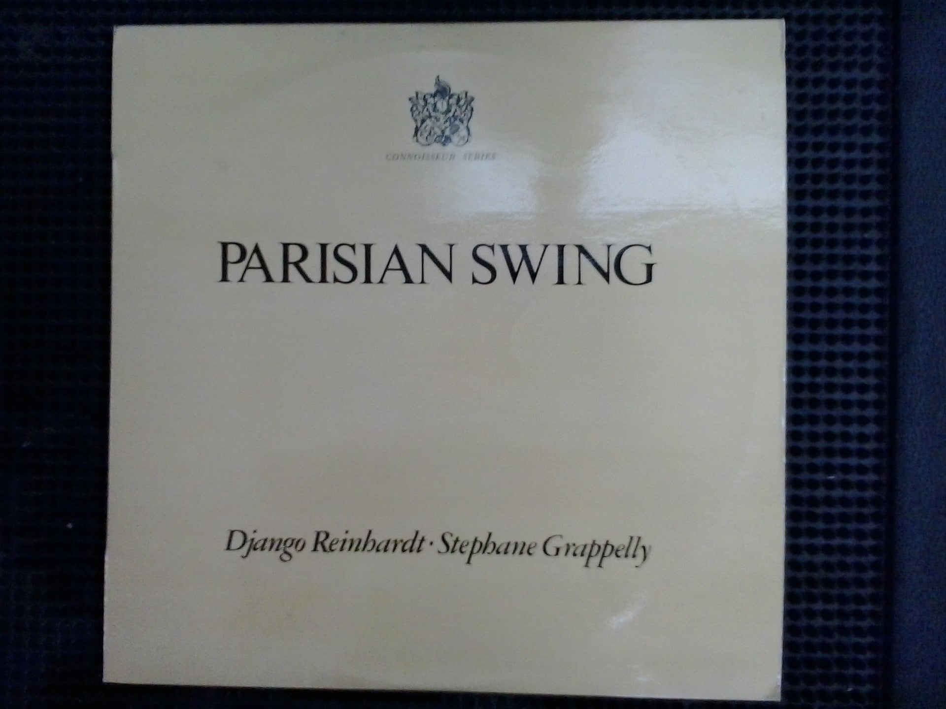 REINHARDT DJANGO STEPHANE GRAPPELLY-PARISIAN SWING LP EX VG+