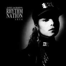 JACKSON JANET-RHYTHM NATION VG COVER VG+