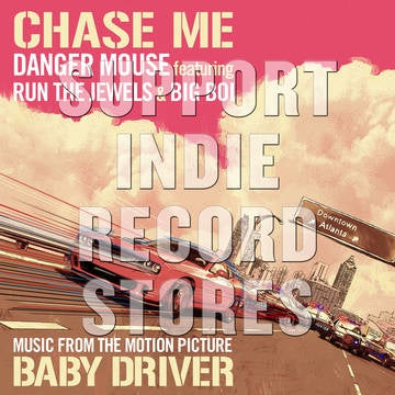 "DANGER MOUSE FEAT. RUN THE JEWELS & BIG BOI-CHASE ME 12"" *NEW*"