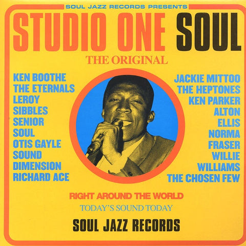 STUDIO ONE SOUL-VARIOUS ARTISTS 2LP *NEW*