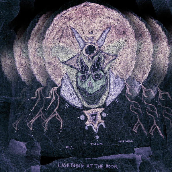 "ALL THEM WITCHES-LIGHTNING AT THE DOOR CLEAR SWIRL VINYL LP+ 7"" *NEW*"