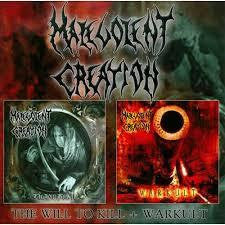 MALEVOLENT CREATION-WILL TO KILL + WARKULT 2CD *NEW*