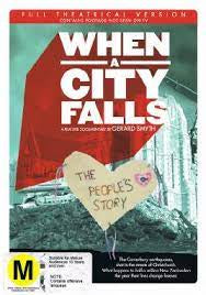 WHEN A CITY FALLS-THE PEOPLES STORY DVD VG
