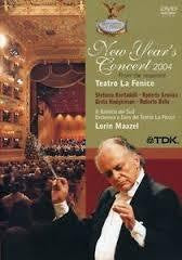 NEW YEAR'S CONCERT 2007 FROM THE TEATRO LA FENICE DVD *NEW*