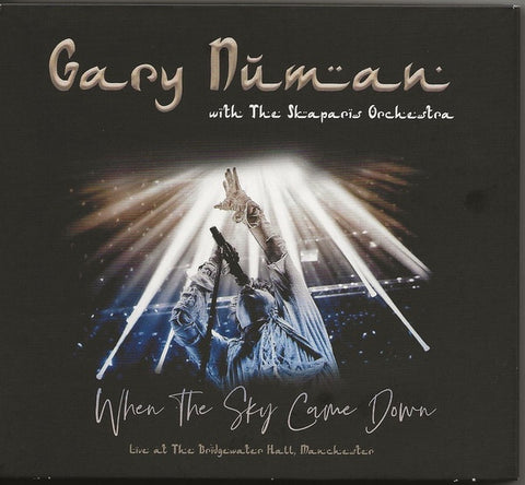 NUMAN GARY-WHEN THE SKY CAME DOWN: LIVE AT THE BRIDGEWATER HALL 2CD + DVD *NEW*