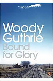 GUTHRIE WOODY-BOUND FOR GLORY BOOK VG