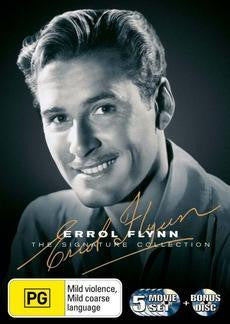 ERROL FLYNN THE SIGNATURE COLLECTION 6DVD G