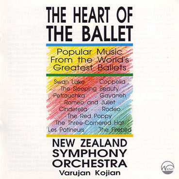 NEW ZEALAND SYMPHONY ORCHESTRA-HEART OF THE BALLET CD *NEW*