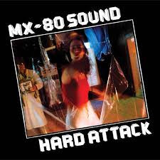 MX-80 SOUND-HARD ATTACK LP EX COVER VG+