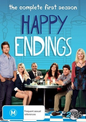 HAPPY ENDINGS THE COMPLETE FIRST SEASON 2DVD VG