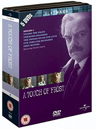 A TOUCH OF FROST SERIES 4. 5 DVD VG
