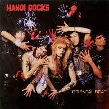HANOI ROCKS-ORIENTAL BEAT RED VINYL LP *NEW*