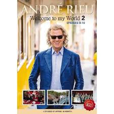 RIEU ANDRE-WELCOME TO MY WORLD EPISODES 8-10 DVD *NEW*