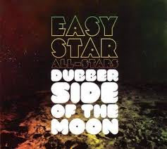 EASY STAR ALL-STARS-DUBBER SIDE OF THE MOON GREEN VINYL LP NM COVER VG+