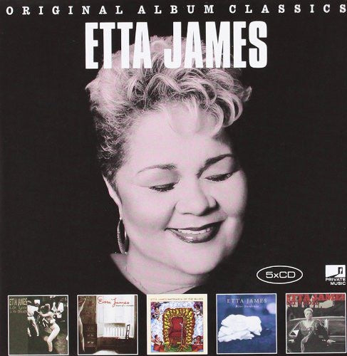 JAMES ETTA-ORIGINAL ALBUM CLASSICS 5CD G