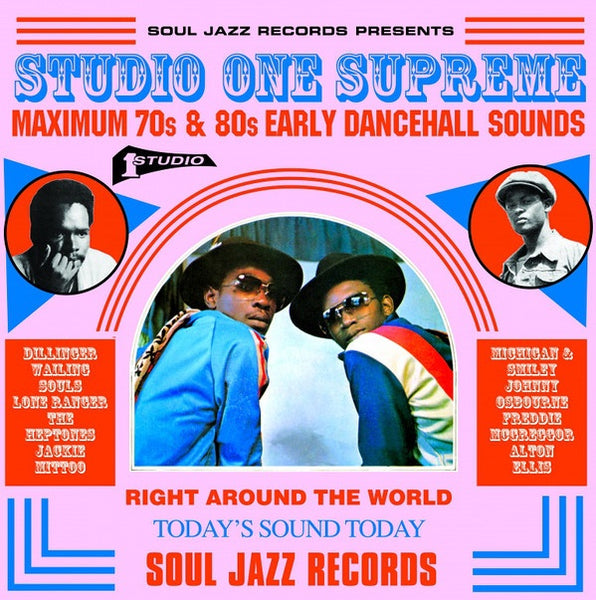 STUDIO ONE SUPREME: 70S & 80S EARLY DANCEHALL SOUNDS-VARIOUS ARTISTS 3LP *NEW*