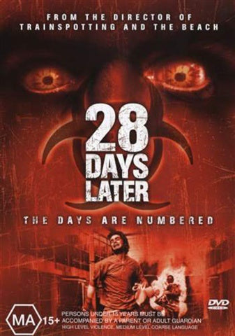 28 DAYS LATER R16 DVD VG