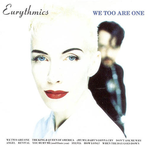 EURYTHMICS-WE TOO ARE ONE CD VG