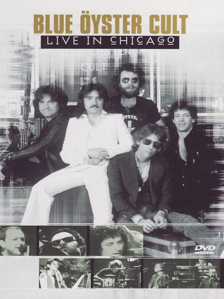 BLUE OYSTER CULT-LIVE IN CHICAGO DVD VG